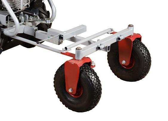 Podvozek řiditelného vozíku KOR 220 pro stroj Panter Dakr