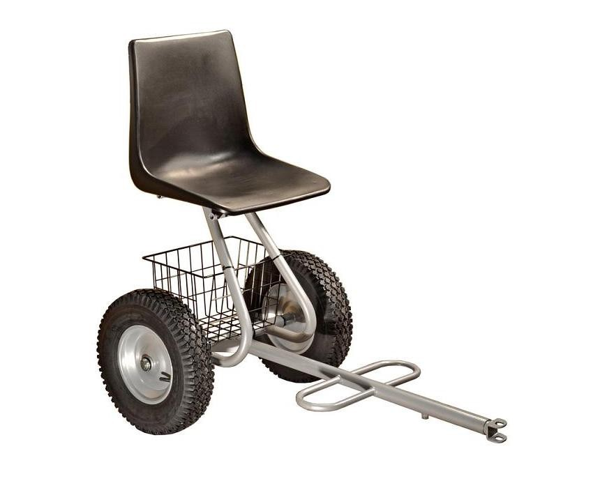 Přípojná sedačka pro stroje Panter. Dakr